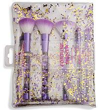 Парфюми, Парфюмерия, козметика Комплект четки за грим - I Heart Revolution Fortune Seeker Glitter Brush Set