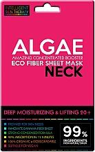Парфюмерия и Козметика Експрес-маска за шия - Beauty Face IST Deep Moisturizing & Lifting Neck Mask Algae