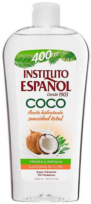 Кокосово масло за тяло - Instituto Espanol Coconut Body Oil — снимка N1
