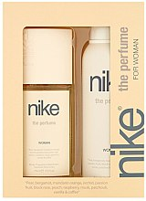 Парфюми, Парфюмерия, козметика Nike The Perfume Woman - Комплект (део/200ml + спрей за тяло/75ml)