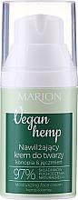 Хидратиращ крем за лице с коноп и ечемик - Marion Vegan Hemp Moisturizing Face Cream Hemp & Barley — снимка N2