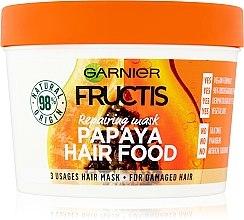 Парфюми, Парфюмерия, козметика Възстановяваща маска за увредена коса - Garnier Fructis Papaya Hair Food Mask