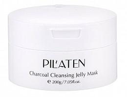 Парфюмерия и Козметика Гел-маска за лице - Pilaten Charcoal Cleansing Jelly Mask Face Mask
