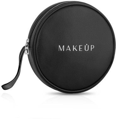 Черен несесер (16 x 4см) - MakeUp