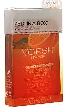 "Парфюми, Парфюмерия, козметика Педикюрен комплект ""Мандарина"" - Voesh Deluxe Pedicure Tangerine Twist Pedi In A Box 4 in 1"