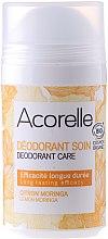 Парфюмерия и Козметика Органичен дезодорант с аромат на лимон и моринга - Acorelle Deodorant Care Limone & Moringa