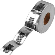 Парфюмерия и Козметика Шаблони за изграждане на нокти, сребристи - Silcare