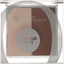 Парфюмерия и Козметика Палитра за контуриране - Bell HypoAllergenic Contour Palette