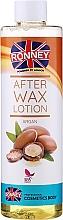 Парфюмерия и Козметика Лосион след депилация с арган - Ronney Professional After Wax Lotion Argan