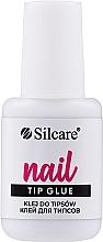Парфюмерия и Козметика Лепило за изкуствени нокти - Silcare Nail Tip Glue