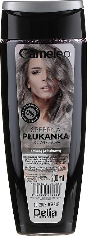 Сребърна обливка за светла коса - Delia Cosmetics Cameleo