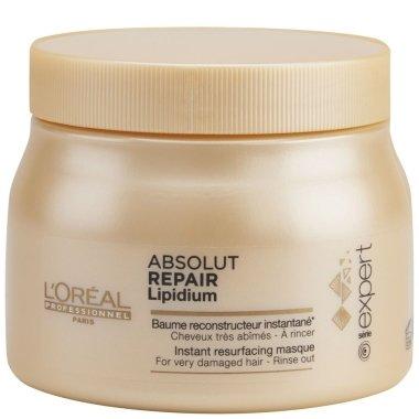 Маска за възстановяване на увредена коса - L'Oreal Professionnel Absolut Repair Lipidium Instant Reconstructing Masque — снимка N5