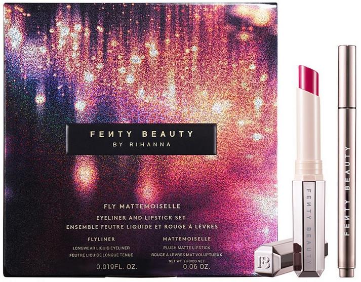 Комплект за грим - Fenty Beauty Fly Mattemoiselle (очна линия/0.55ml + червило/1.7g) — снимка N1