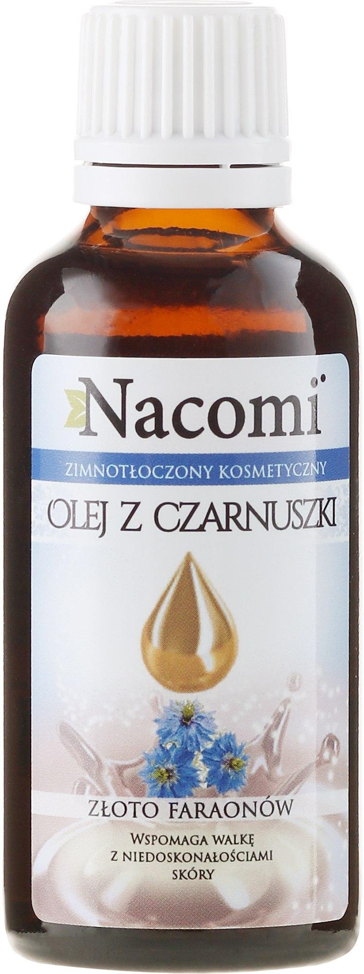 Масло от черен кимион за лице и тяло - Nacomi Olej Z Czarnuszki Złoto Faraonów — снимка 30 ml