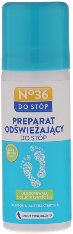 Препарат за крака с масло от чаено дърво - Pharma CF No36