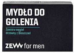 Комплект за мъже - Zew For Men Shaving Kit (сапун/85ml + афтър. балсам/80ml + четка/1бр.) — снимка N3
