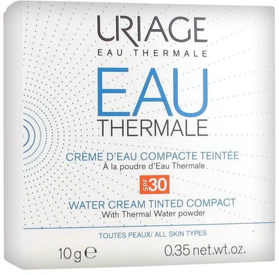 Компактна крем-пудра за лице - Uriage Eau Thermale Water Tinted Cream Compact SPF30