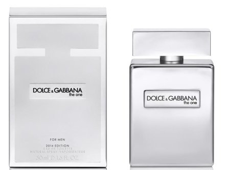 Dolce & Gabbana The One Platinum Limited Edition - Тоалетна вода — снимка N1