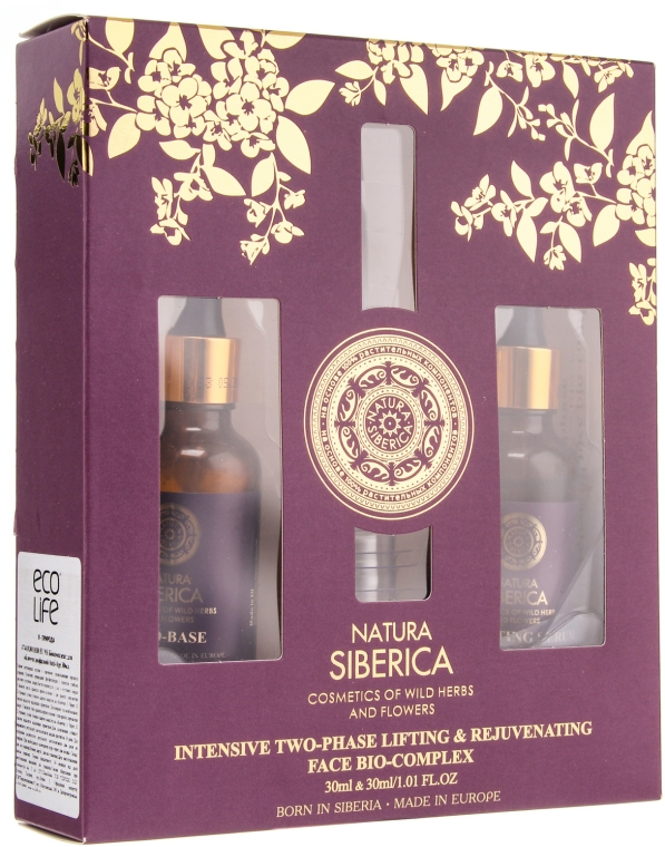 Комплект - Natura Siberica Anti-Age (bio-intensive/basis/30ml + serum/30ml)
