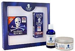 Парфюмерия и Козметика Комплект за мъже - The Bluebeards Revenge Designer Stubble Kit (скраб за лице/100ml+ олио за брада/100/ml)
