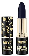 Парфюмерия и Козметика Хидратиращо червило за устни - Miyo Lip Me Lipstick Belladonna