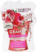 """Парфюми, Парфюмерия, козметика Маска за лице """"Нар"""" - Marion Fit & Fresh Pomegranate Face Mask"""