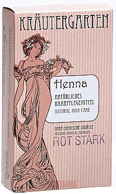 Къна за коса на прах в наситено червен цвят - Styx Naturcosmetic Henna Rot Stark  — снимка N1