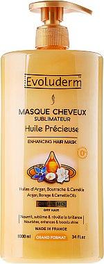Маска за коса - Evoluderm Huile Precieuse Hair Mask — снимка N3