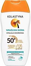 Парфюмерия и Козметика Слънцезащитна емулсия за чувствителна кожа - Kolastyna Sensitive Skin SPF50