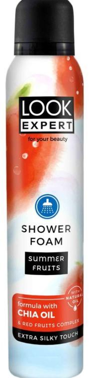 Душ пяна - Look Expert Shower Foam Summer Fruits — снимка N1