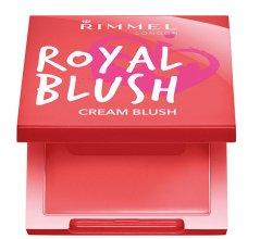 Парфюми, Парфюмерия, козметика Крем руж - Rimmel Royal Blush Cream