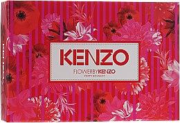 Парфюмерия и Козметика Flower By Kenzo Poppy Bouquet - Комплект (парф. вода/50ml + лосион за тяло/50ml + несесер/1бр)