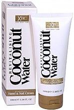 Парфюмерия и Козметика Крем за ръце и нокти - Xpel Marketing Ltd Coconut Water Hand & Nail Cream