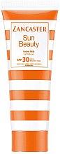 Парфюмерия и Козметика Слънцезащитно мляко за тяло - Lancaster Sun Beauty Velvet Milk SPF30