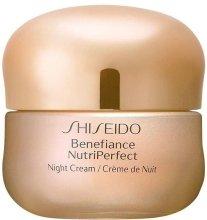 Парфюми, Парфюмерия, козметика Нощен крем за лице - Shiseido Benefiance NutriPerfect Night Cream