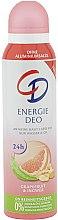 Парфюмерия и Козметика Спрей дезодорант - CD Energie Deo Spray Grapefruit & Ingwer