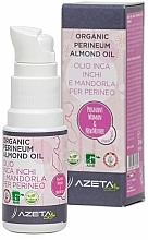 Парфюмерия и Козметика Органично бадемово масло за перинеум - Azeta Bio Organic Perineum Almond Oil