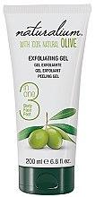 Парфюми, Парфюмерия, козметика Ексфолиращ гел за тяло с маслиново масло - Naturalium Gel Exfoliante Oliva Natural