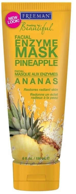 "Ензимна маска за лице ""Ананас"" - Freeman Feeling Beautiful Pineapple Enzyme Mask"