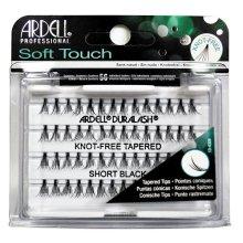Парфюми, Парфюмерия, козметика Комплект мигли на снопчета - Ardell Soft Touch Duralash Short Black Tapered Tips