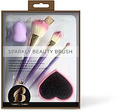 Парфюмерия и Козметика Комплект за грим - Beauty Look Sparkly Beauty Brush
