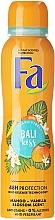 Парфюмерия и Козметика Дезодорант с аромат на манго и ванилия - Fa Bali Kiss Deodorant