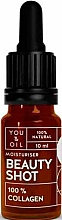 Парфюмерия и Козметика Серум за лице с колаген - You & Oil Beauty Shot 100 % Collagen