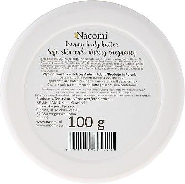 Масло за бременни - Nacomi Pregnant Care Creamy Body Butter — снимка N3