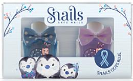 Парфюми, Парфюмерия, козметика Комплект детски лакове за нокти 2х10,5ml - Snails Mini Bebe Penguin