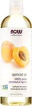 Парфюмерия и Козметика Масло от кайсия, за кожа и коса - Now Foods Solutions Apricot Oil