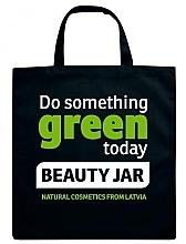 Парфюмерия и Козметика Шопър чанта, черна - Beauty Jar Shopper