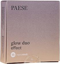 Парфюмерия и Козметика Пудра и руж за лице - Paese Nanorevit Glow Duo Effect Powder And Blush