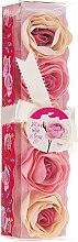 """Парфюмерия и Козметика Конфети за вана """"Роза"""", 5 бр. - Spa Moments Bath Confetti Rose"""