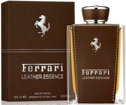 Парфюмерия и Козметика Ferrari Leather Essence - Парфюмна вода ( тестер без капачка )